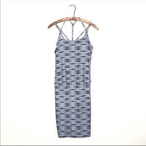 Athleta Ariel Venice Knit Strappy Swim Dress